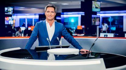 Bij breaking news kan Stef Wauters zelf het nieuws maken