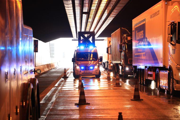 De Beverentunnel in Kallo krijgt de Belgische primeur voor het 'tunneldoseren'.
