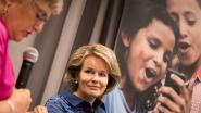 Koningin Mathilde wil betere maatregelen om geweld tegen kinderen in conflictgebieden te bestrijden