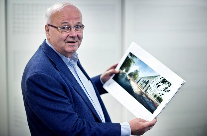 Portret Chris Oomen, directeur zorgverzekeraar DSW.
