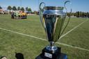 De trofee voor de winnaar van de Copa del Agatha.