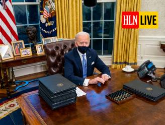 """Biden zegt dat hij """"erg genereuze brief"""" kreeg van Trump"""
