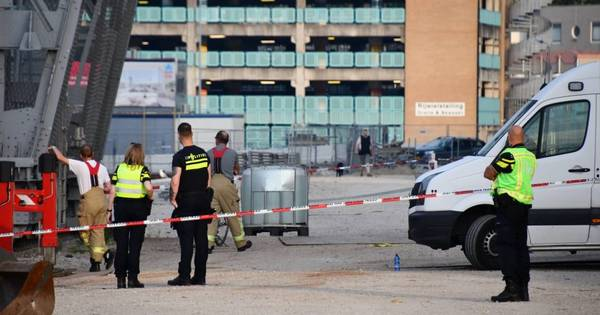 Val uit Scheldekraan was ongeval.