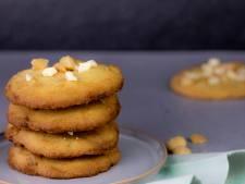 Wat Eten We Vandaag: Macadamiakoeken met witte chocolade