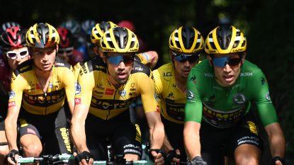 """Wout van Aert al twee dagen volop in rol van 'super domestique' in de Dauphiné: """"Milaan-Sanremo winnen voelt als gisteren"""""""