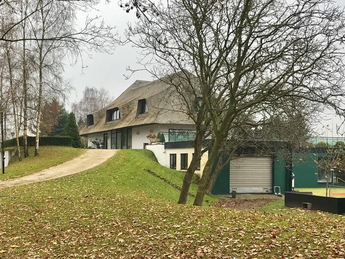 De villa van familie Van der Valk in Nuland.