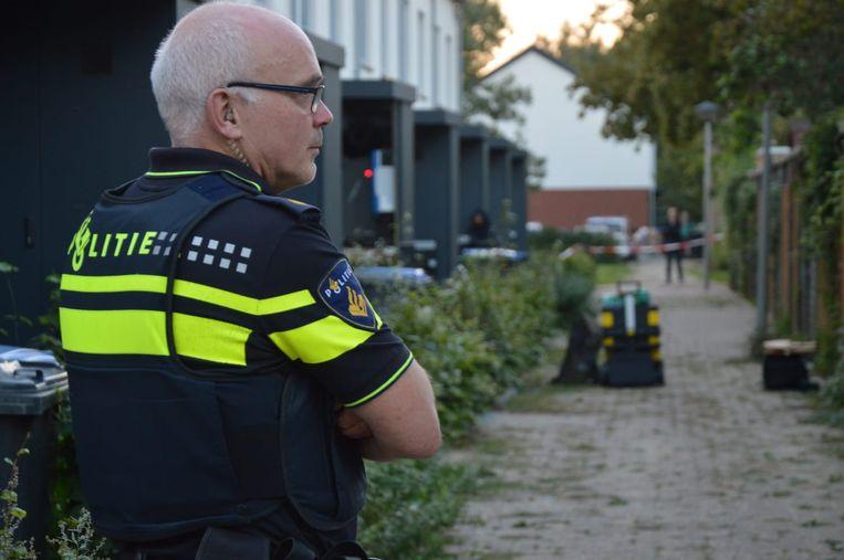 De aanhoudingen in Arnhem werden verricht in de Doeffstraat. Beeld Persbureau Heitink