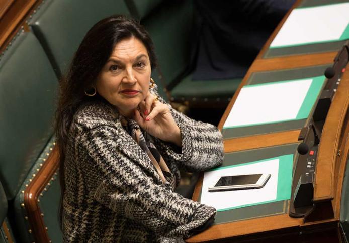 La ministre de l'Energie en affaires courantes Marie-Christine Marghem (MR).