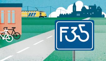 VVD wil toeristen op snelle fietsen vangen met fietssnelweg in IJsselstreek