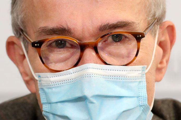 Minister van Volksgezondheid en Sociale Zaken Frank Vandenbroucke.