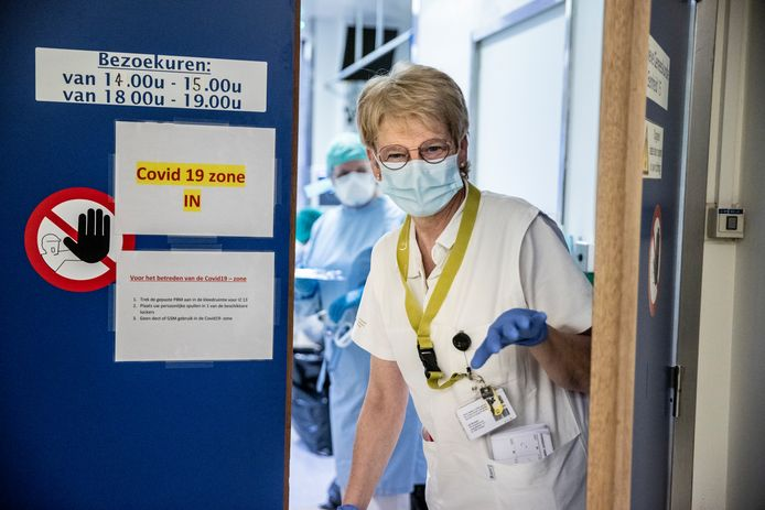 Jacqueline 'Jacky' De Neef, verpleegkundige in het UZ Brussel