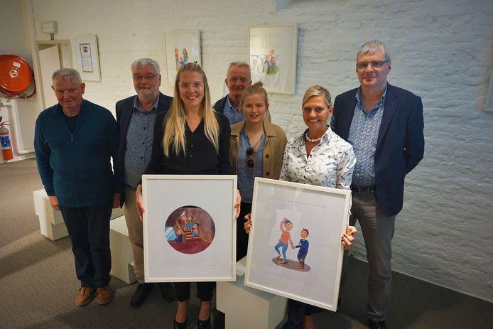 Prudence Geerts stelt met 'Planet Prudence' tentoon in het Käthe Kollwitz Museum van Koekelare