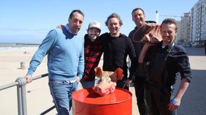 Ostend Beach wordt steeds meer food festival