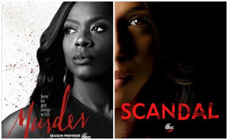 'How to Get Away With Murder' & 'Scandal' ontmoeten elkaar binnenkort op het kleine scherm.