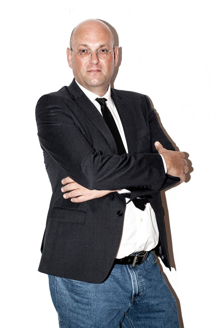 Schuimverslaggever Hans van der Beek Beeld Linda Stulic
