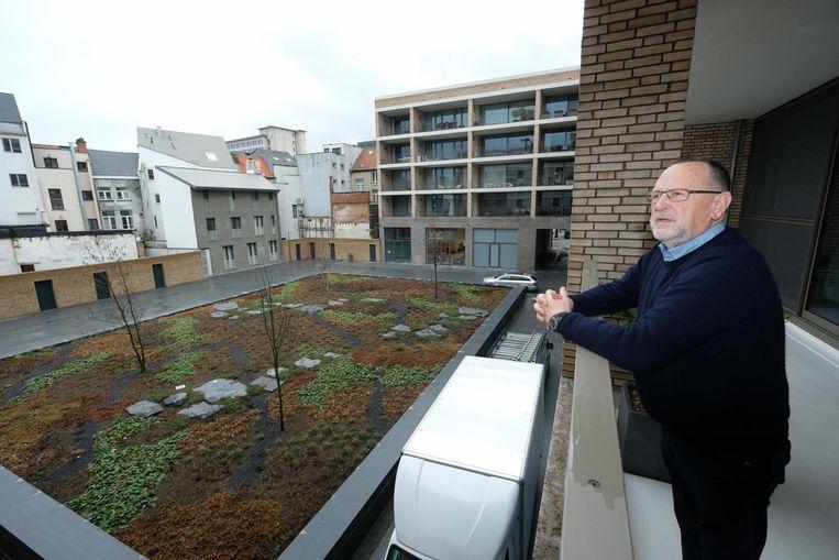 Buurtbewoner Leopold Claessens is blij met de maatregel rond de binnentuinen.