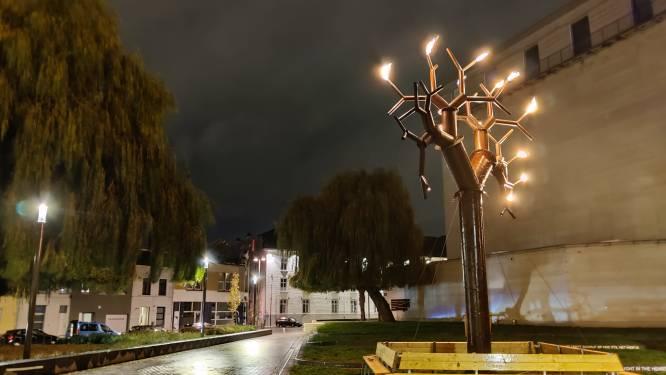 Kazerne Dossin zet vuurboom als baken van hoop