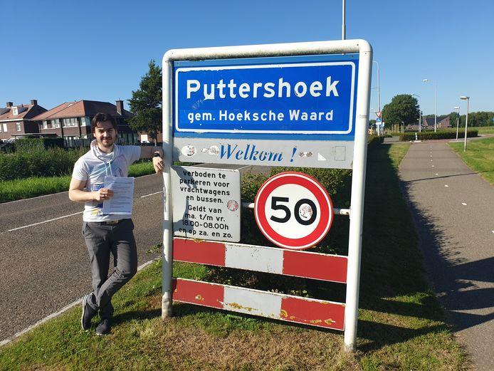 Herman Brink heeft een woning in Puttershoek.