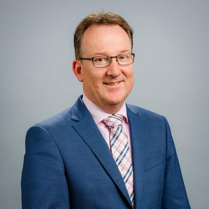 David van Raalten, directielid Waterveiligheid van waterschap Drents Overijsselse Delta.