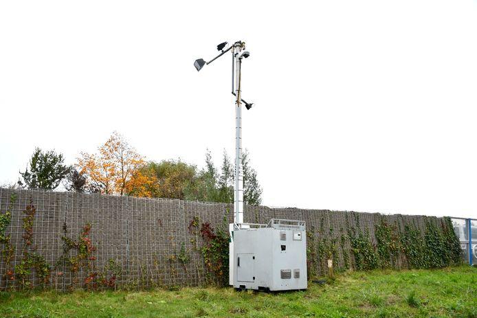 De installatie staat langs de provinciale weg in IJsselstein.