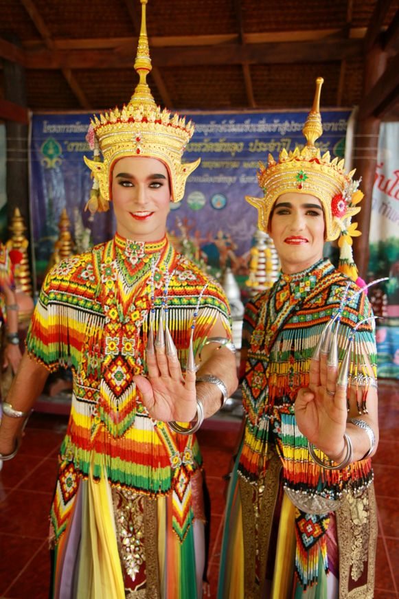 Ish Aït Hamou en Jan Kooijman in Thailand