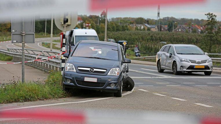 In het Limburgse Roosteren schoot de politie een van de verdachten neer voor ze bij de gevangenis in Roermond konden komen. Beeld anp