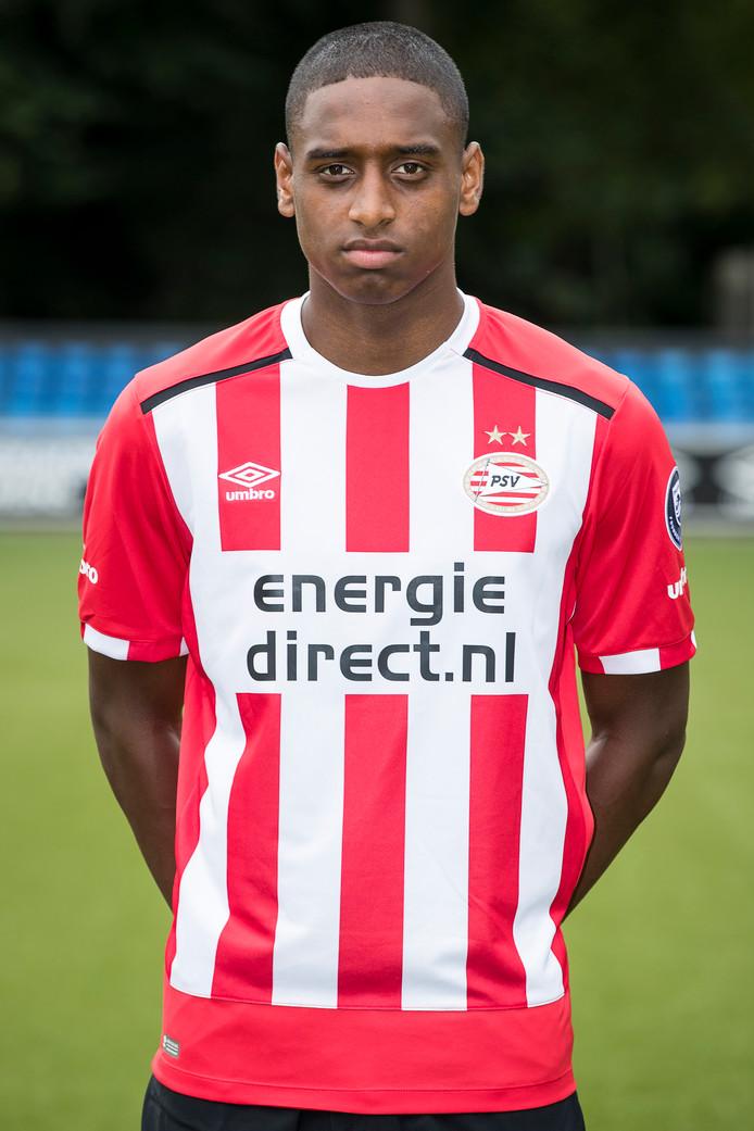 Pablo Rosario kreeg bij PSV 1 al de nodige minuten, maar heeft nog geen basisplek kunnen afdwingen.