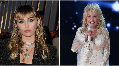 Miley Cyrus doet imitatie van tante Dolly Parton en het resultaat is hilarisch