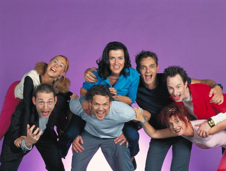 De cast van 'W817'.