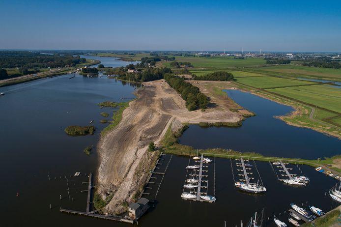 Op het terrein van de voormalige camping Roggebotsluis wil de eigenaar een bungalowpark realiseren.
