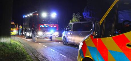 Man gewond na botsing met boom bij Heesch