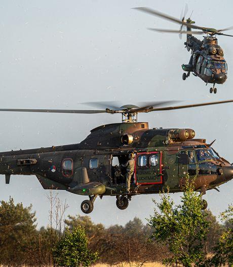 Dit is waarom er vanaf vandaag zoveel helikopters laag over Oost-Nederland vliegen