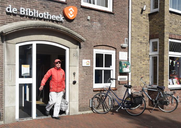 De bibliotheek aan de Kanaalstraat in Oost-Souburg.
