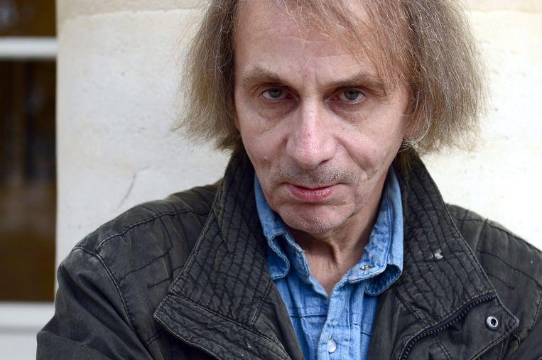 De Franse schrijver Michel Houellebecq. Beeld afp