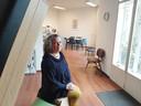 Mathilde Scheffer heeft nu een ruime praktijkruimte.