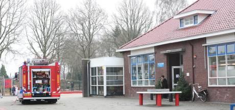 Basisschool in Westerhaar ontruimd vanwege brand