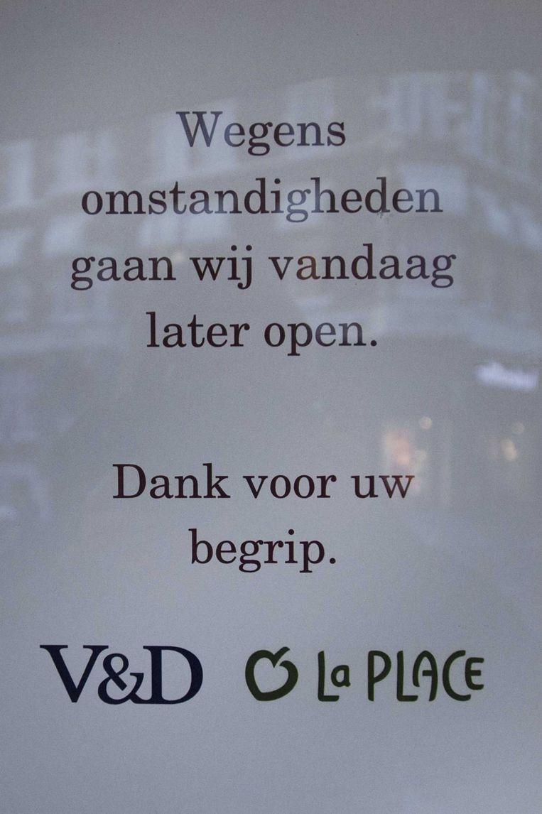 De vestiging van V&D in Haarlem. Beeld ANP