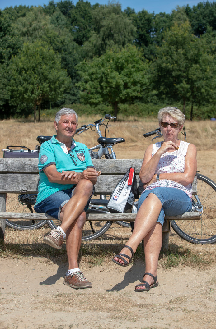 Jaap en Trijnie Voorthuysen op Kwintelooijen.