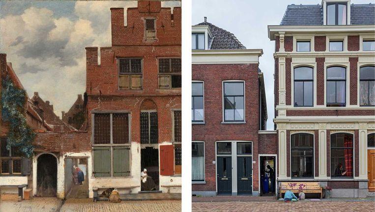 Twijfels Vermeer Over Na Delft In Cultuurblog Locatie Straatje wm8nv0N