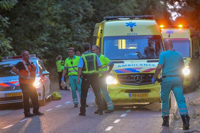 Ongeval in Bergeijk waarbij een 15-jarig meisje gewond raakte.