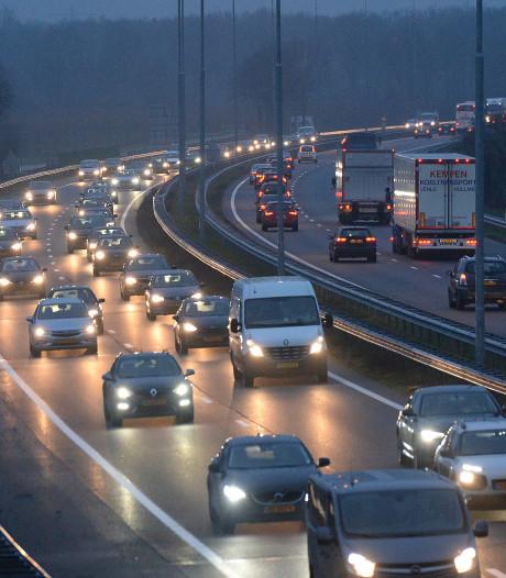 Weer meer ongelukken op het Brabantse deel van de A73