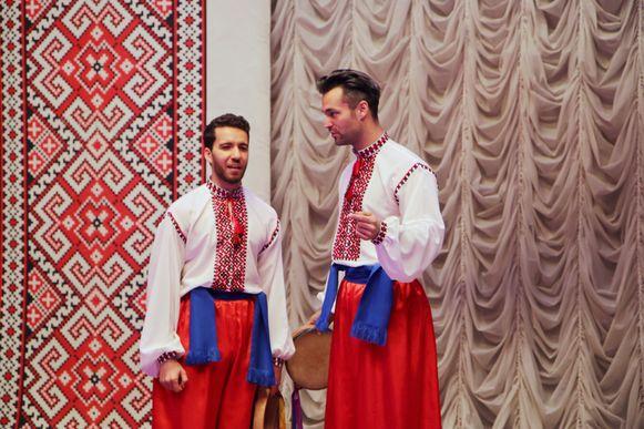 Ish Aït Hamou en Jan Kooijman in Oekraine
