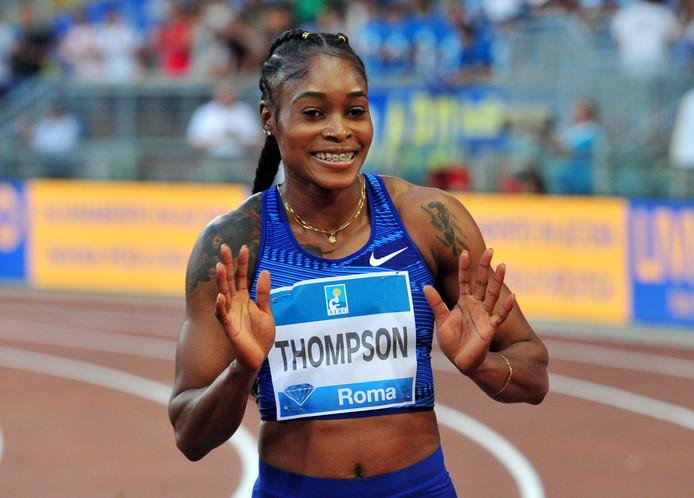 Elaine Thompson.