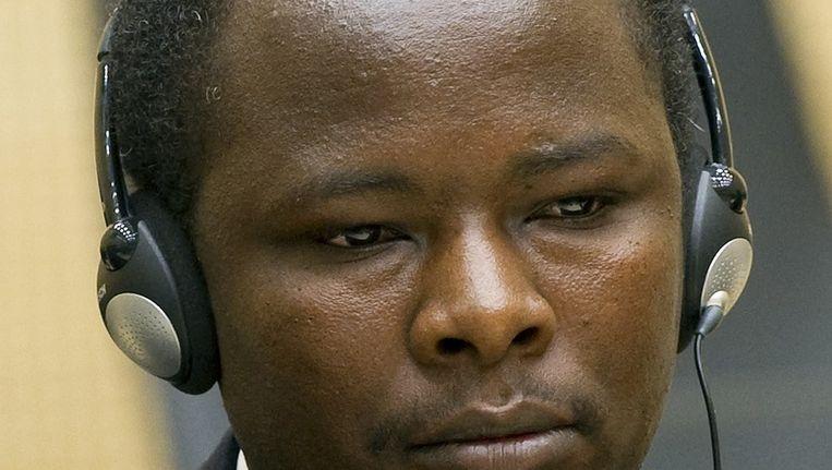 De Sudanese rebellenleider Saleh Mohammed Jerbo Jamus donderdag in 2010 in het Internationaal Strafhof (ICC) in Den Haag. Beeld ANP