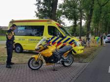 Motorrijder gewond na val op Oisterwijksedreef in Haaren
