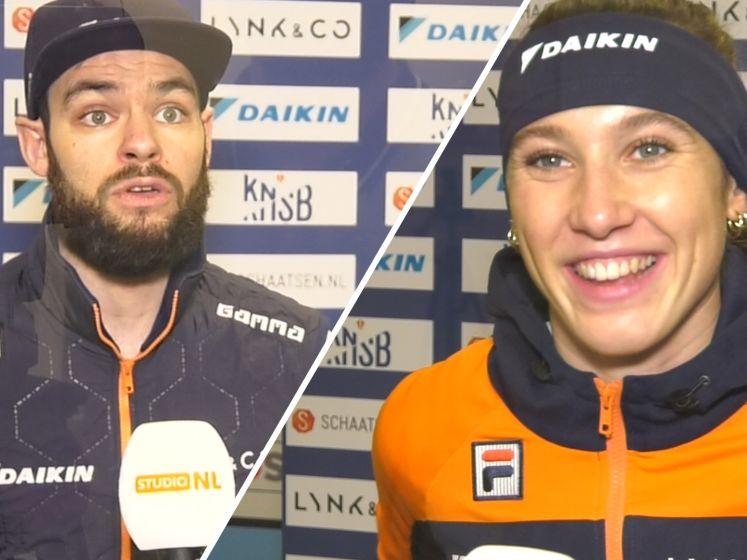 Knegt en Schulting: 'Lekker om weer te racen!'