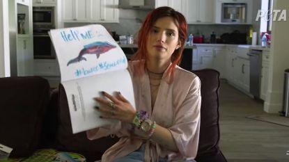 """Bella Thorne protesteert tegen Seaworld: """"Wat daar gebeurt, is verschrikkelijk"""""""