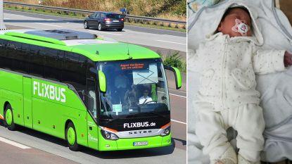Meisje geboren op Flixbus naar Brussel mag gratis reizen tot haar 18 jaar