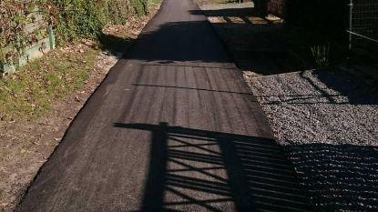 Opknapbeurt voor fietsbaantje achter De Pit