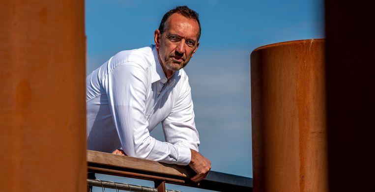 Peter Blangé, oud-volleyballer en nu directeur Topsport Rotterdam.   Beeld ANP